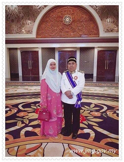 TAHNIAH Datuk Hj Shahar Effendi Bin Abdullah Azizi, Ketua Pengarah JMG