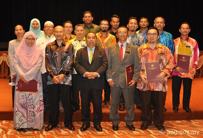 Majlis Penyampaian Watikah Kenaikan Pangkat dan Pemangkuan oleh YB Menteri Sumber Asli dan Alam Sekitar