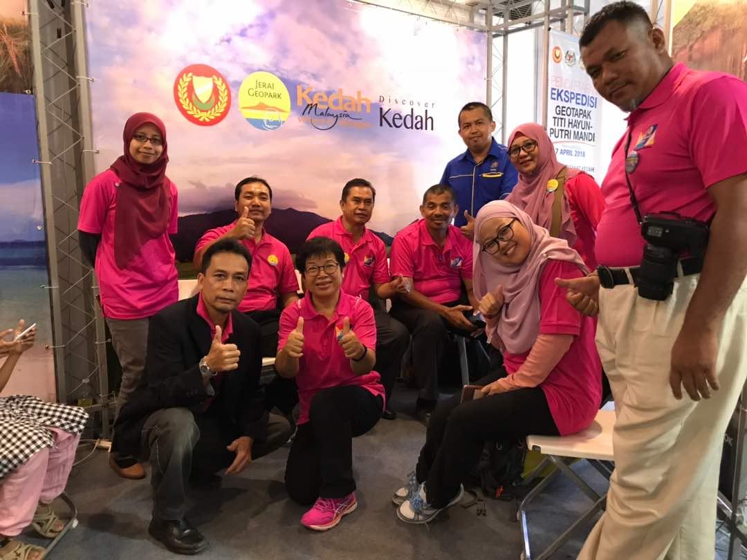 Geopark Jerai Di Ekspo Muafakat Kedah