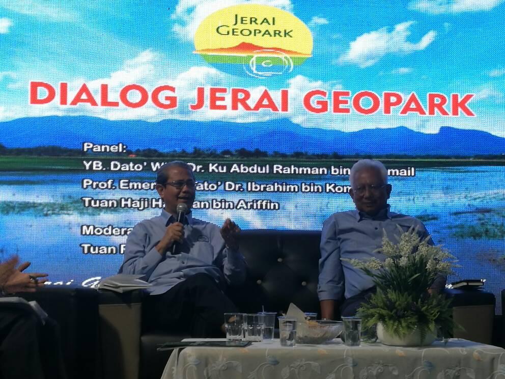 Dialog Jerai Geopark kongsi manfaat kepada komuniti