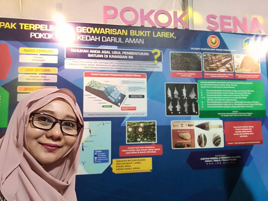 JMG KPP teruja pelancongan geowarisan Kedah semakin mendapat tempat