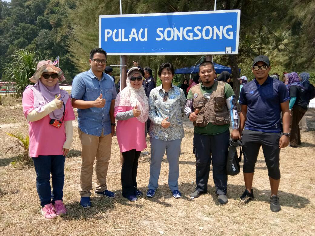 JMG KPP iring Tunku Intan Safinaz di Ekspedisi Pulau Songsong