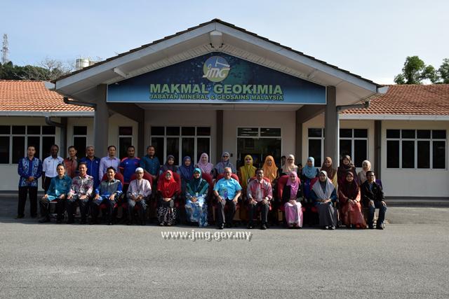 Perhimpunan Bulanan Makmal Geokimia Kuantan