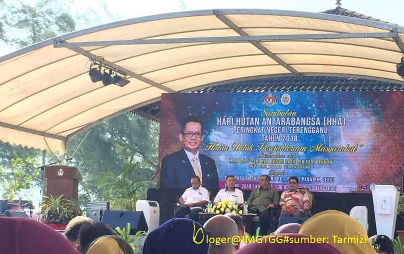SAMBUTAN HARI HUTAN ANTARABANGSA (HHA) PERINGKAT NEGERI TERENGGANU TAHUN 2018.