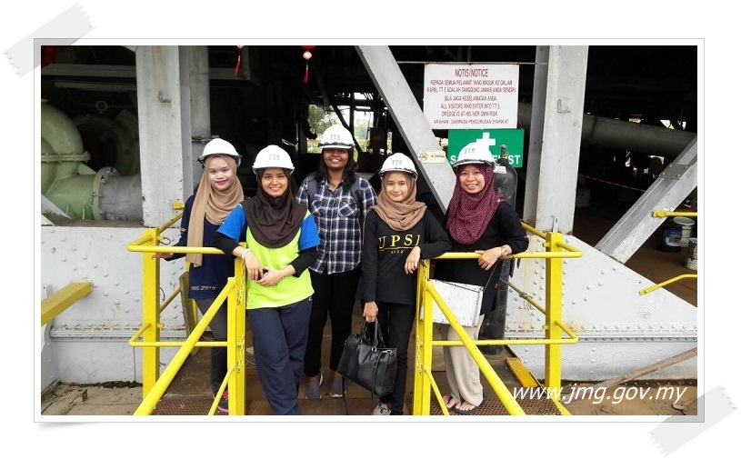 Pelajar Latihan Industri Melawat Muzium Perlombongan Bijih Timah, Kapal Korek dan SUGA