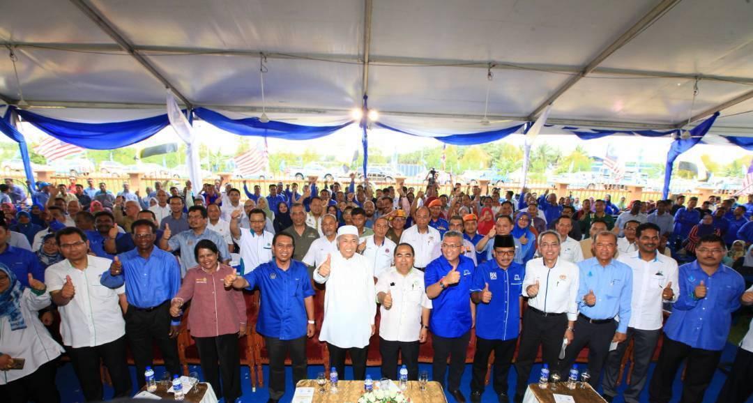 Majlis Perasmian & Penyerahan Telaga Tiub Air Tanah Jabatan Mineral dan Geosains Malaysia, Perak (JMG) Kepada Lembaga Air Perak (LAP) Di Sekolah Menengah Sains Bagan Datuk (SABDA), Perak