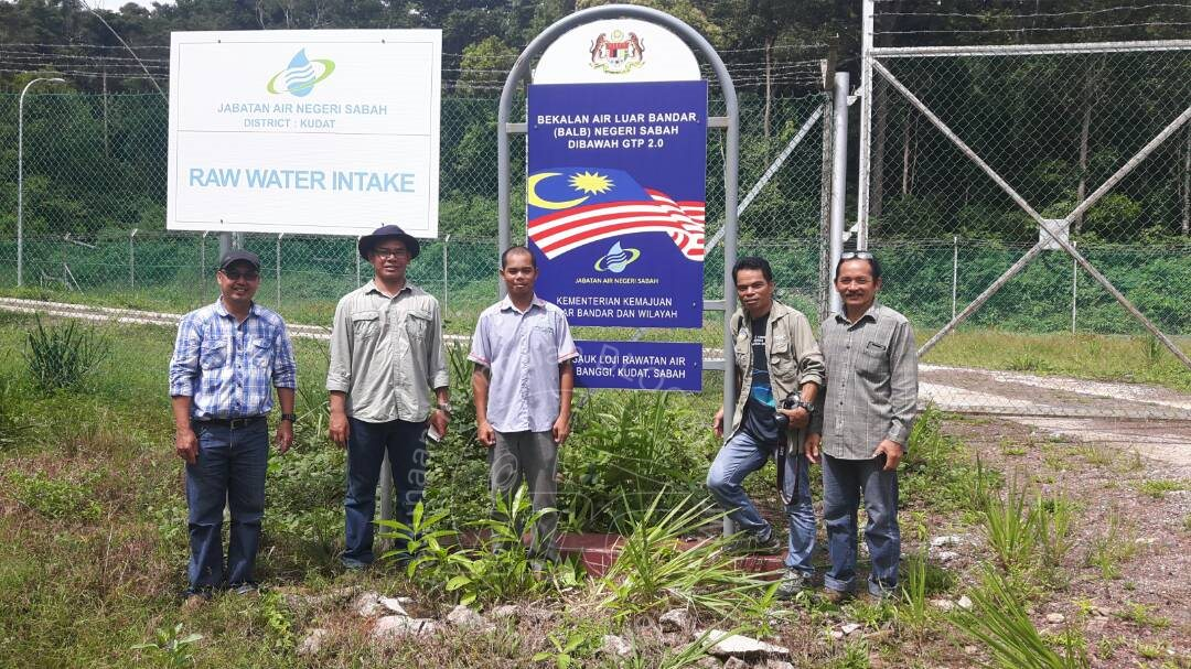 Lawatan Tapak Ke Loji Rawatan Air (LRA) Pulau Banggi, Kudat