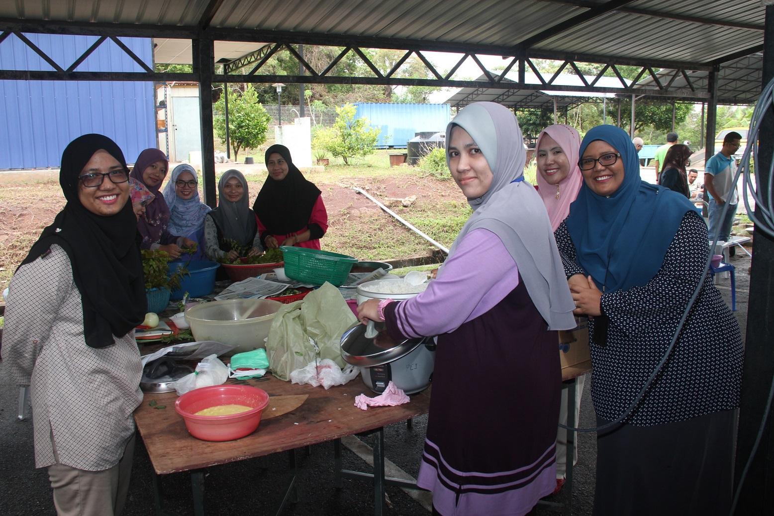Program Perhimpunan Bulanan dan Majlis Berbuka Puasa JMG Pahang