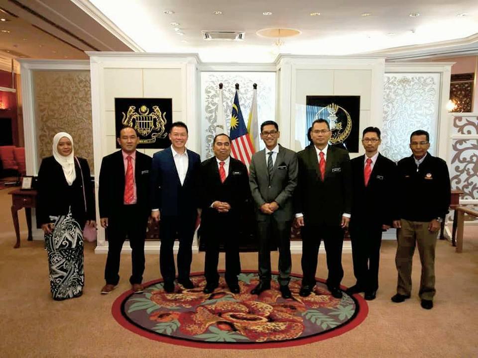 Kunjungan hormat JMG kepada YAB Ahmad Faizal bin Dato Azumu, Menteri Besar Perak