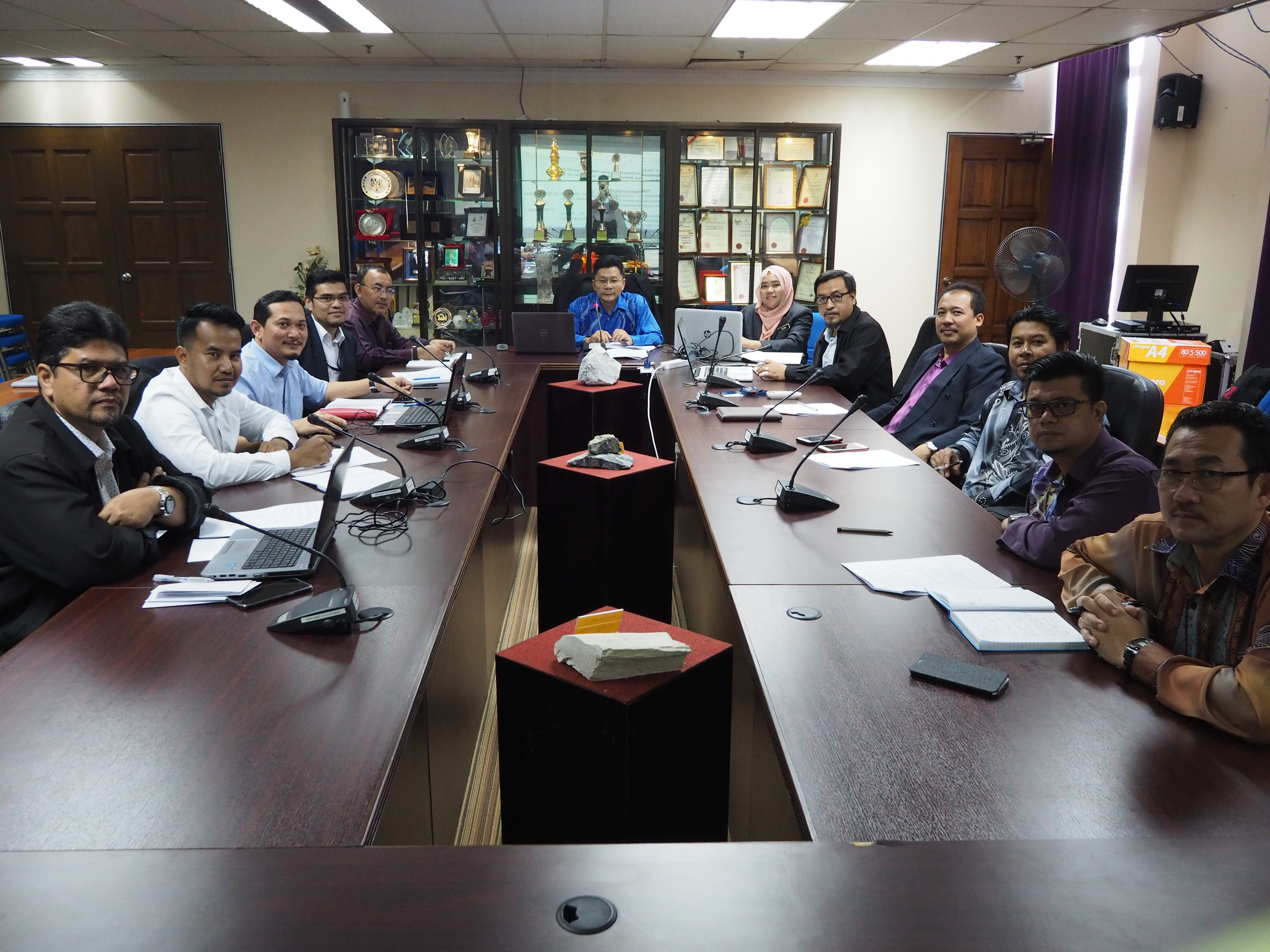 Mesyuarat Penyelarasan Projek Sustainable Development Indicators (SDI) Bil. 2/2018
