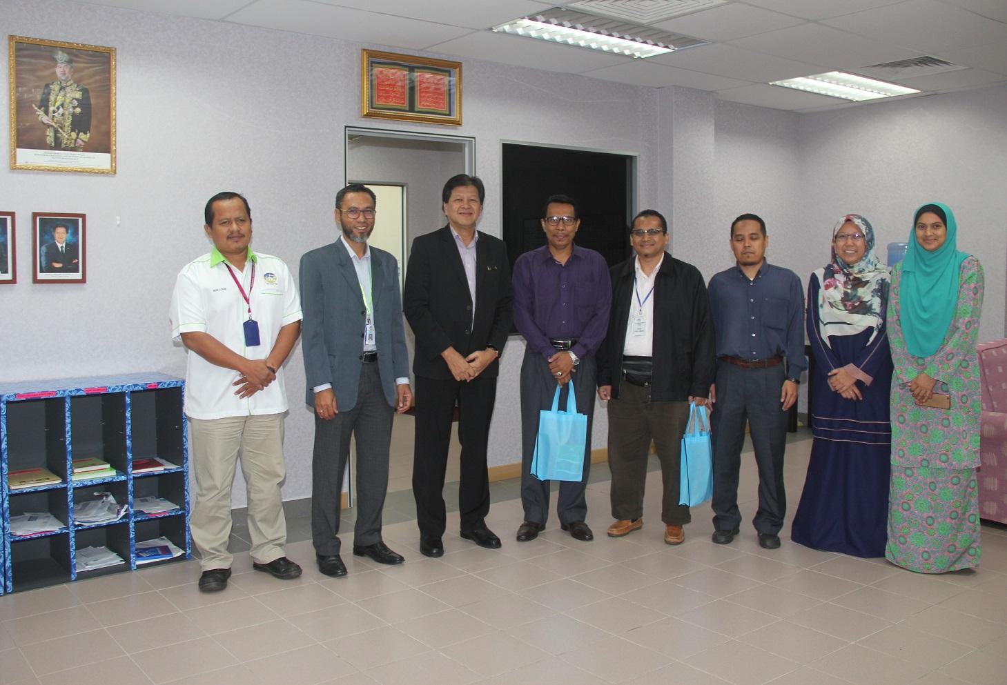 Sesi Lawatan dan Perbincangan Kerjasama antara Universiti Malaysia Pahang dan Jabatan Mineral dan Geosains Pahang