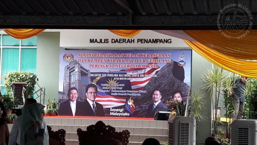 Majlis Pelancaran Bulan Kemerdekaan dan Kempen Kibarkan Jalur Gemilang Peringkat Negeri Sabah