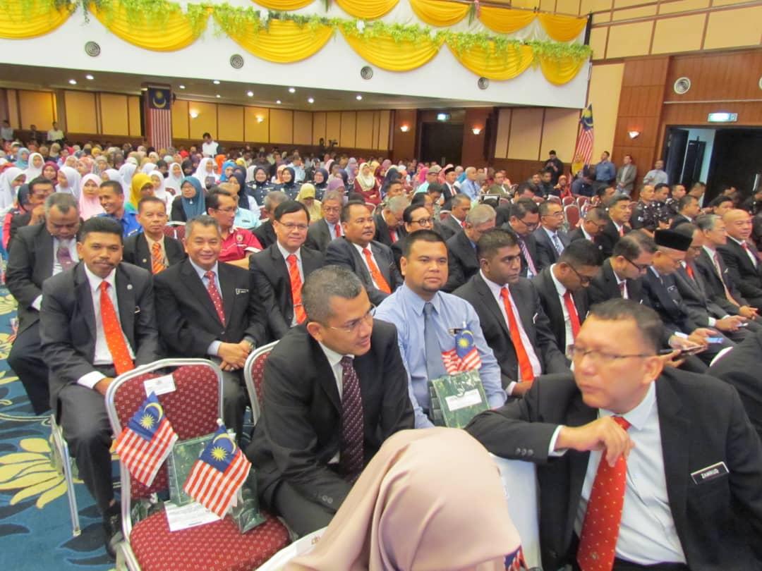 Perhimpunan Bulanan Pentadbiran Kerajaan Negeri Melaka Bil. 8/2018