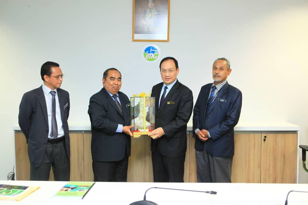 Lawatan KSU Kementerian Air, Tanah dan Sumber Asli (KATS) ke Jabatan Mineral dan Geosains (JMG)