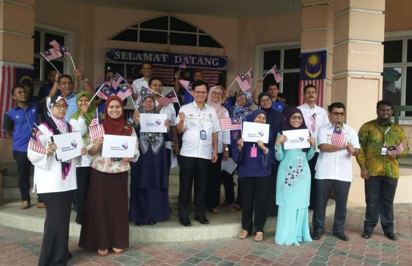 Sambutan Hari Kemerdekaan dan Perhimpunan Bulanan JMG NSM