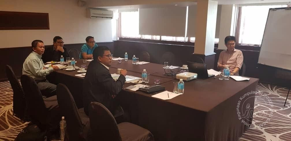SESI TAKLIMAT DAN PERBINCANGAN DI ANTARA SAPURA EXPLORATION & PRODUCTION INC. BERSAMA JMG SABAH