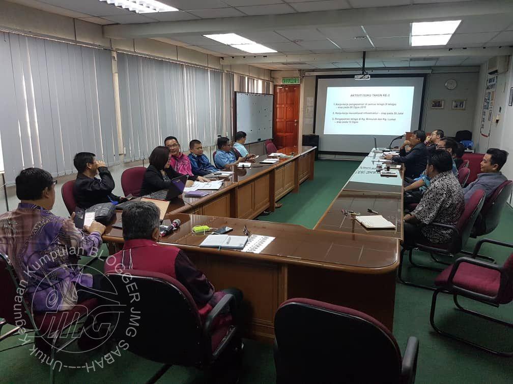 MESYUARAT PEMBANGUNAN JMG SABAH BIL3/2018