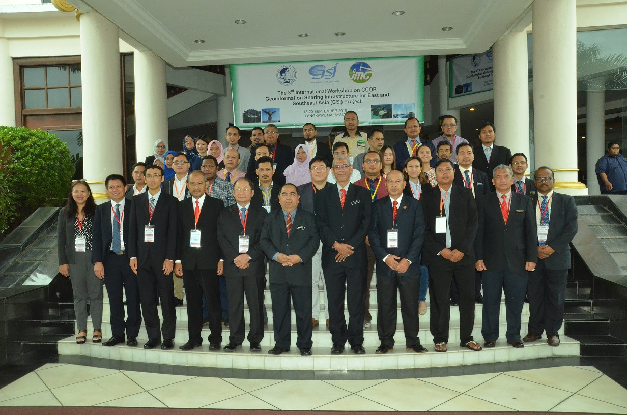 The 3rd International Workshop On CCOP-Geoinformation Sharing Infrastructure for East and South Asia (GSi) Project
