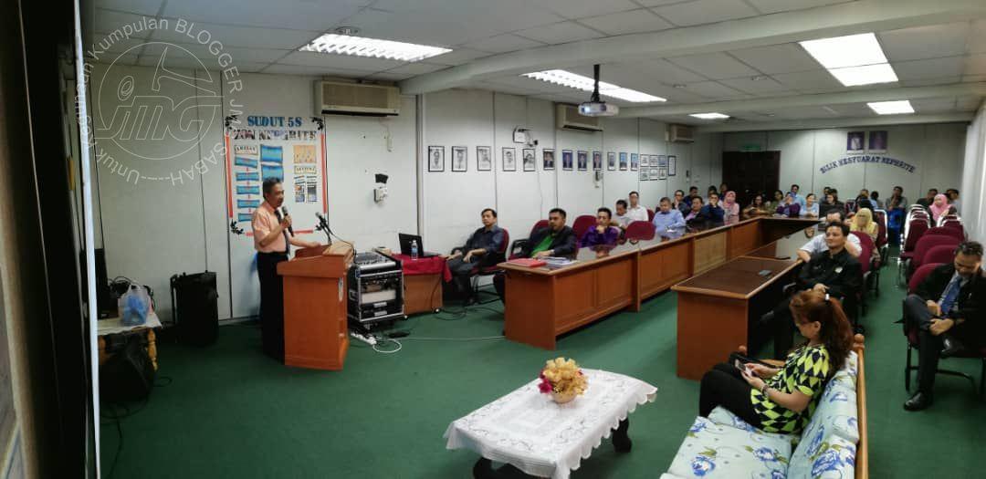PERHIMPUNAN BULANAN BIL. 9/2018 ANJURAN UNIT SUMBER MINERAL