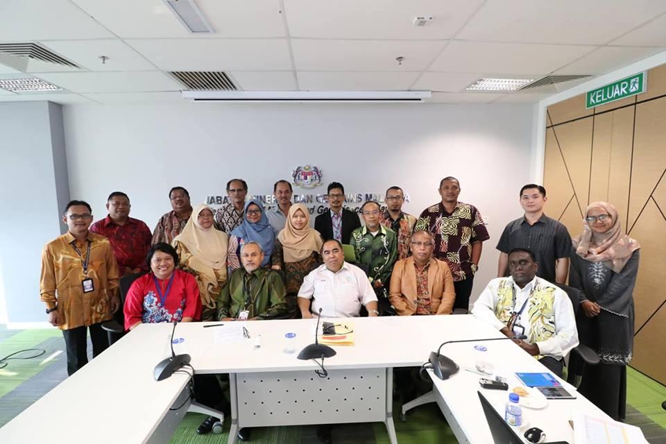Mesyuarat Penubuhan Jawatankuasa (JK) Bertindak Warisan Geologi JMG Malaysia