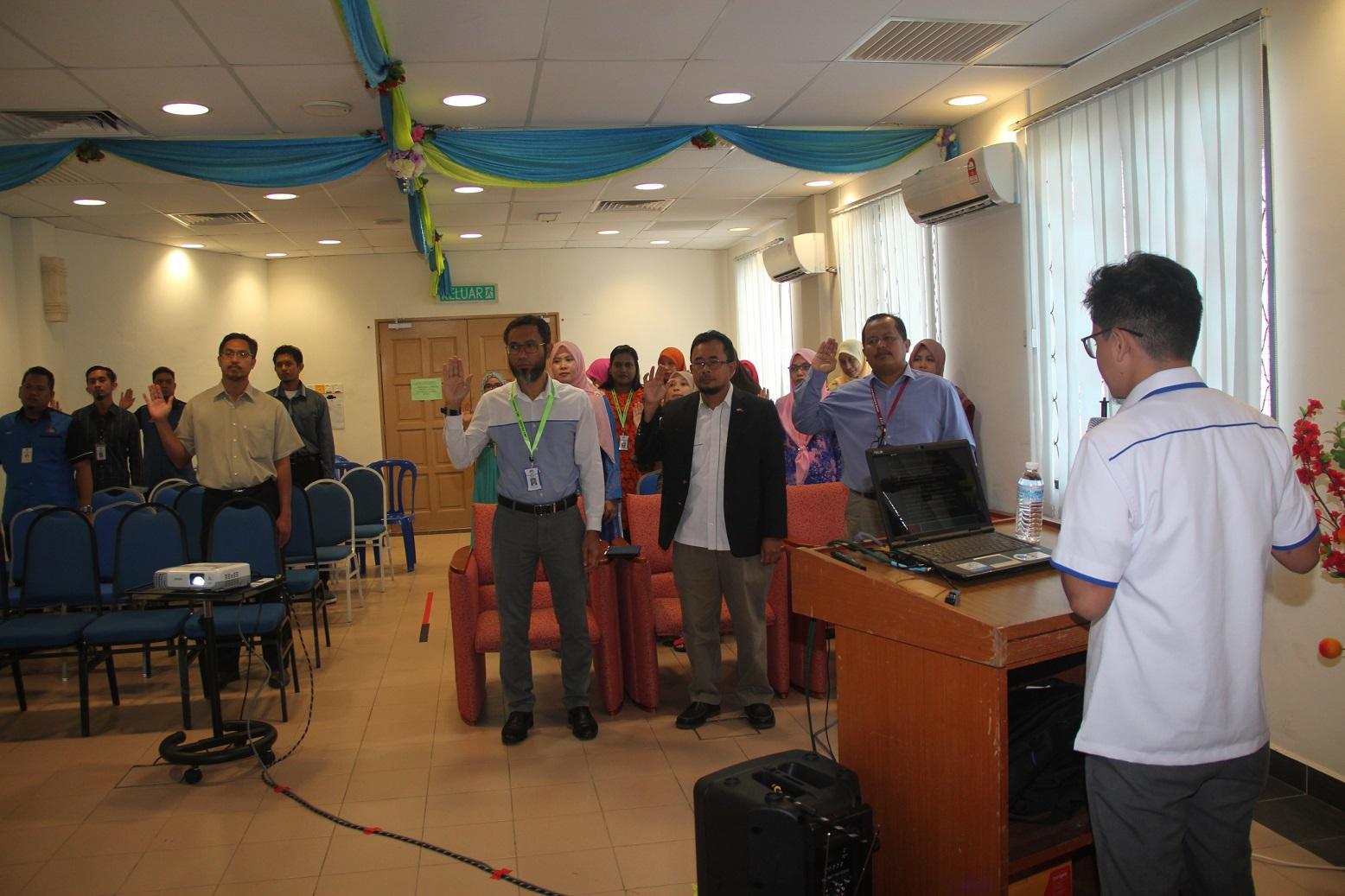 Program Perhimpunan Bulanan JMG Pahang dan Majlis Taklimat CUEPACS