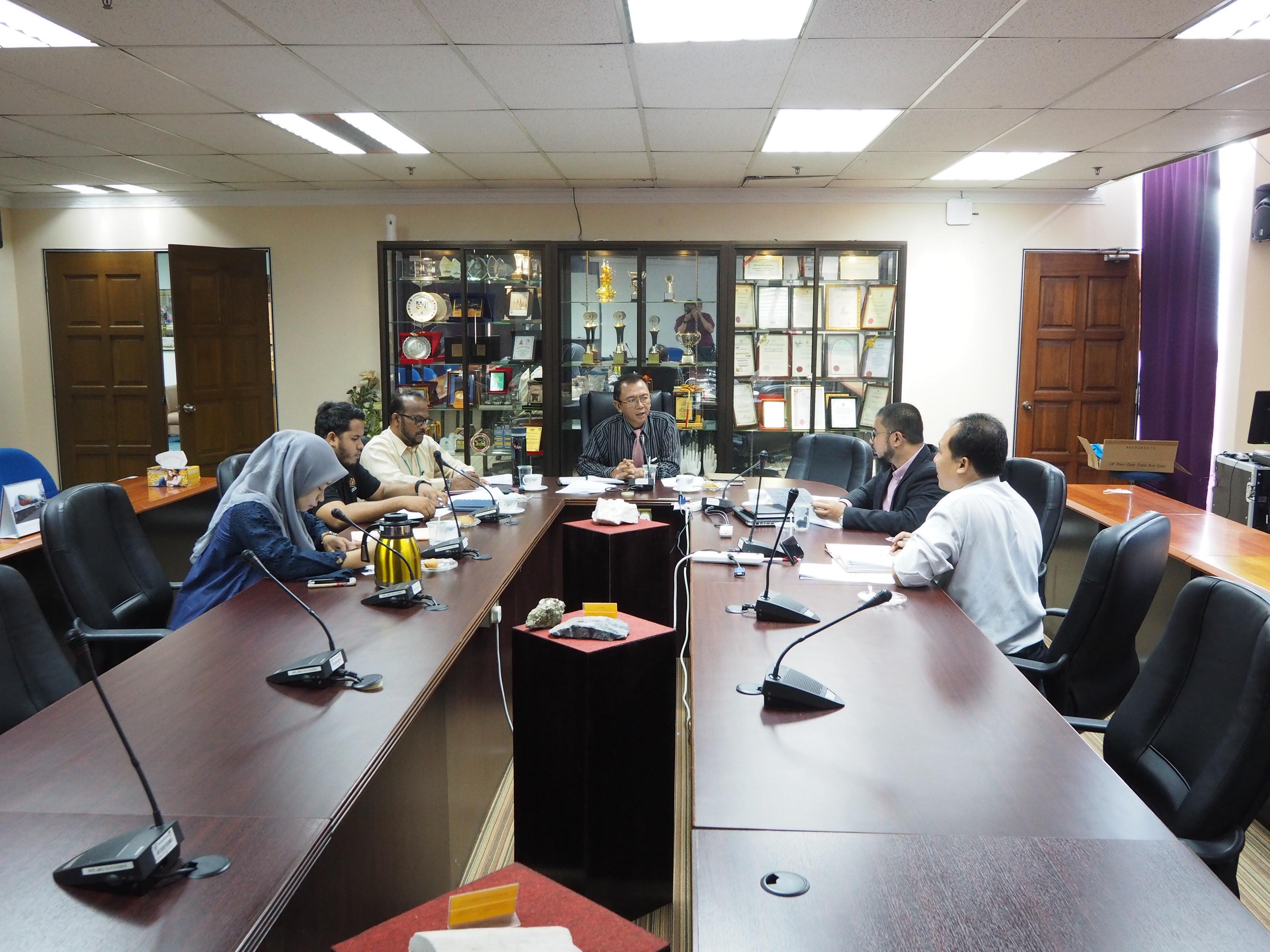 MESYUARAT PEMBANGUNAN JMGSWP BIL. 1/2019