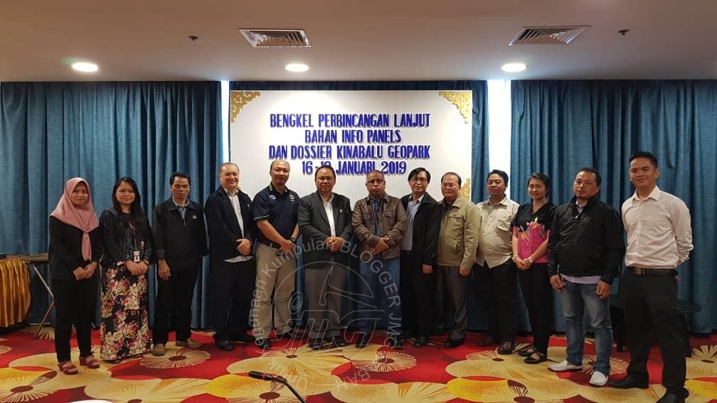 Bengkel Perbincangan Lanjut Bahan Info Panel Dan Dossier Kinabalu Geopark