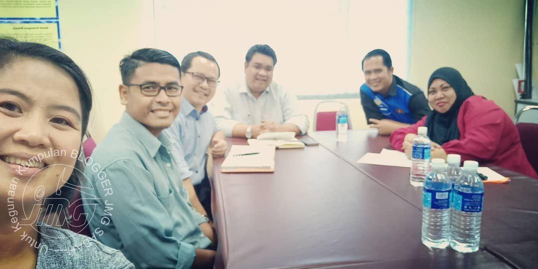 MESYUARAT JAWATANKUASA BLOGGER JMG SABAH BIL.1/2019