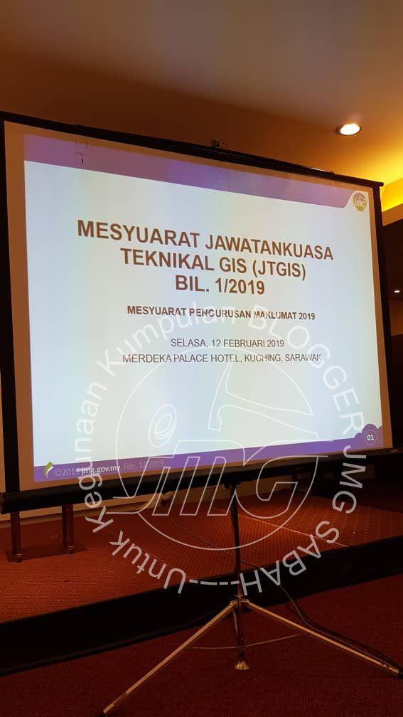 MESYUARAT JAWATANKUASA TEKNIKAL GIS (JTGIS) BIL. 1/2019