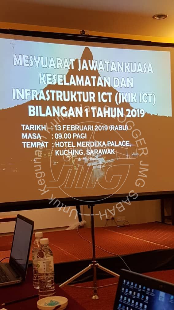 MESYUARAT JAWATANKUASA KESELAMATAN DAN INFRASTRUKTUR ICT (JKIK ICT) BIL. 1/2019
