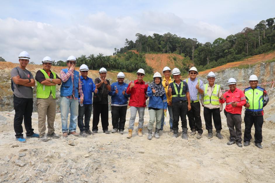 PEPERIKSAAN AMALI BAGI PEMBEDIL BIL 1/2019 DI KUARI SAROMA
