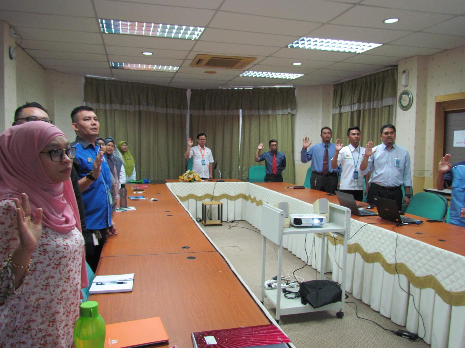 Perhimpunan Bulanan JMG NSM