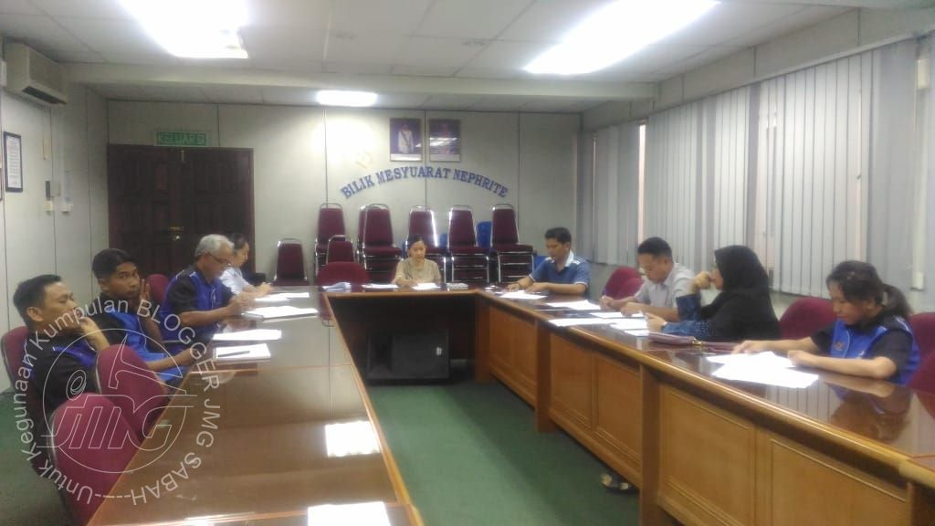 MESYUARAT JAWATANKUASA JATPA JMG SABAH BIL.1/2019