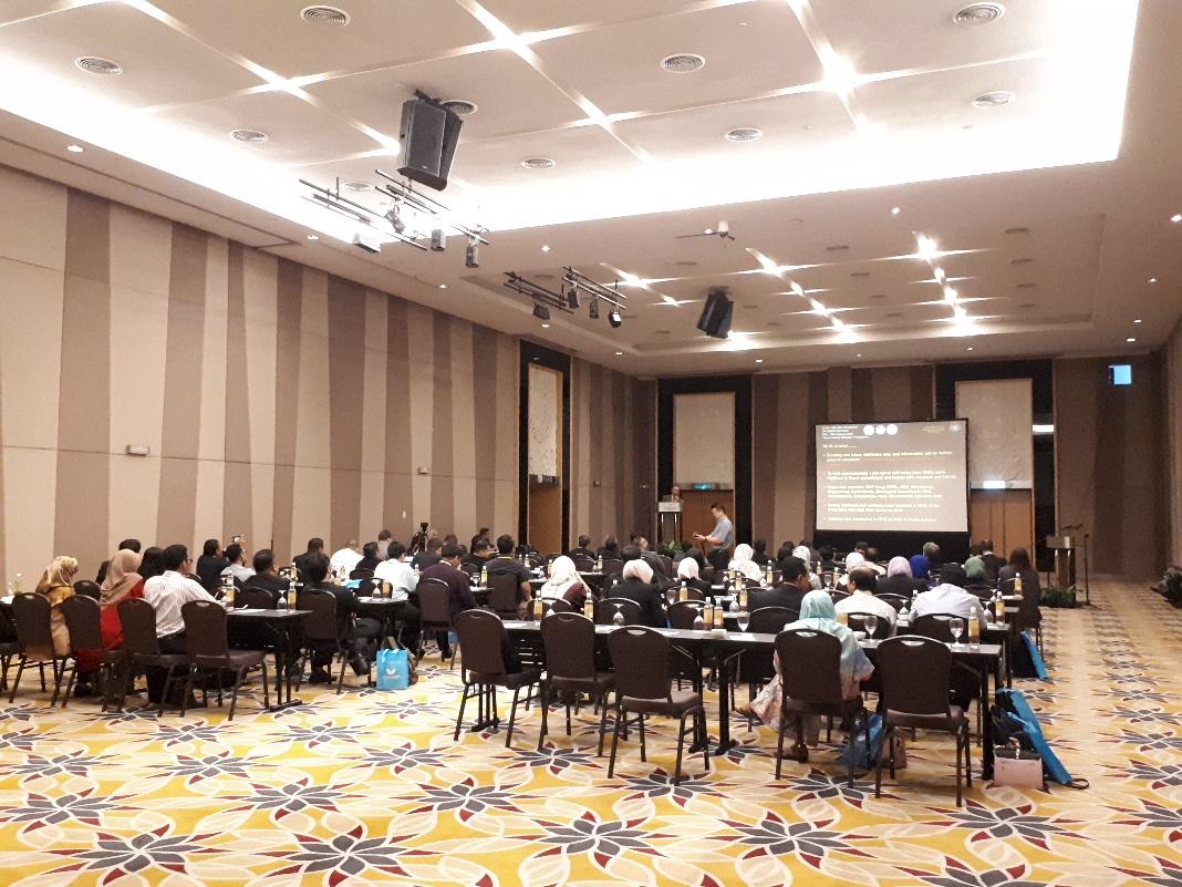 "Majlis Perasmian ""CCOP-JMG-BGS Workshop on Urban Geology"""