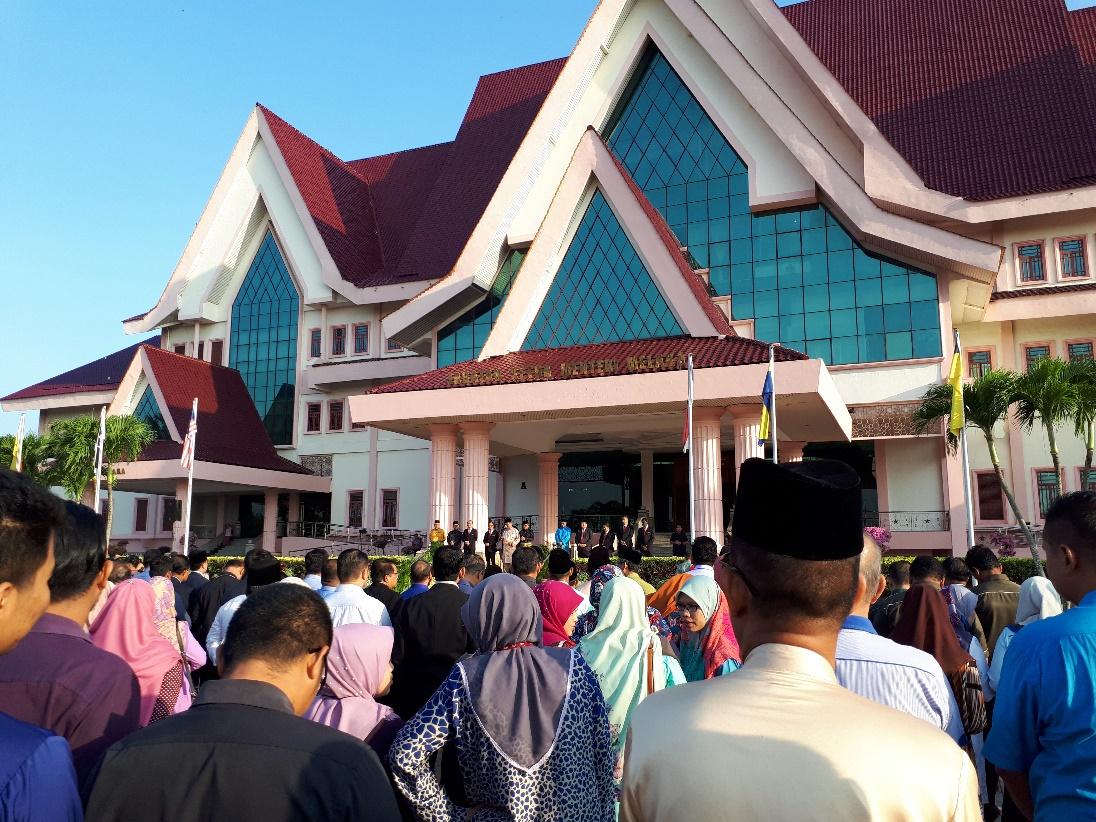Majlis Perhimpunan Bulanan Pentadbiran Kerajaan Negeri Melaka Bil. 3/2019