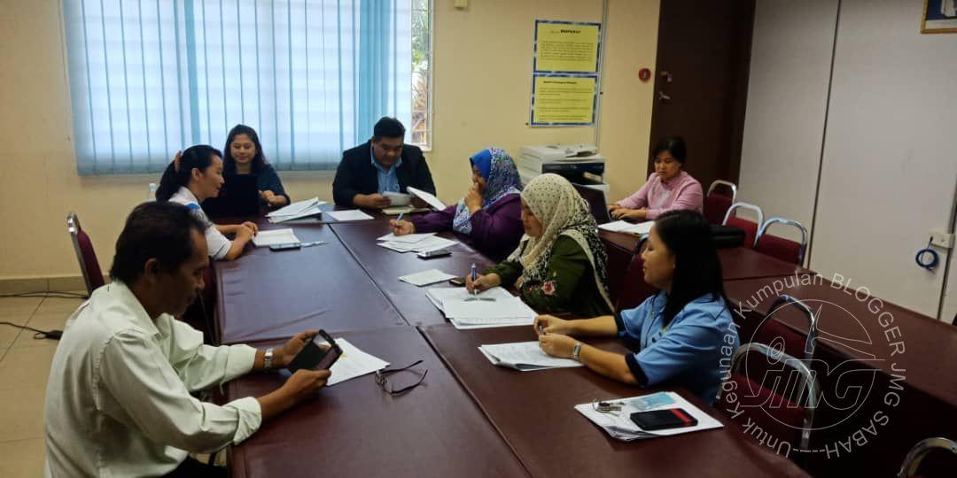 MESYUARAT UNIT PENGURUSAN MAKLUMAT, JMG SABAH BIL.1/2019