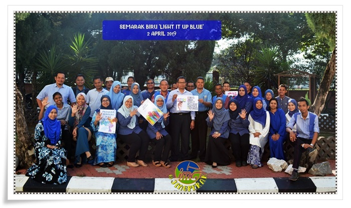 PROGRAM SEMARAK BIRU 'LIGHT IT UP BLUE' SEMPENA SAMBUTAN HARI KESEDARAN AUTISME SEDUNIA