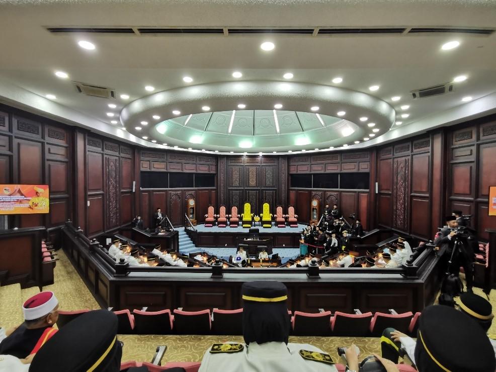 Majlis Istiadat Pembukaan Persidangan Pertama Penggal Kedua Dewan Undangan Negeri Ke-XIV Negeri Sembilan