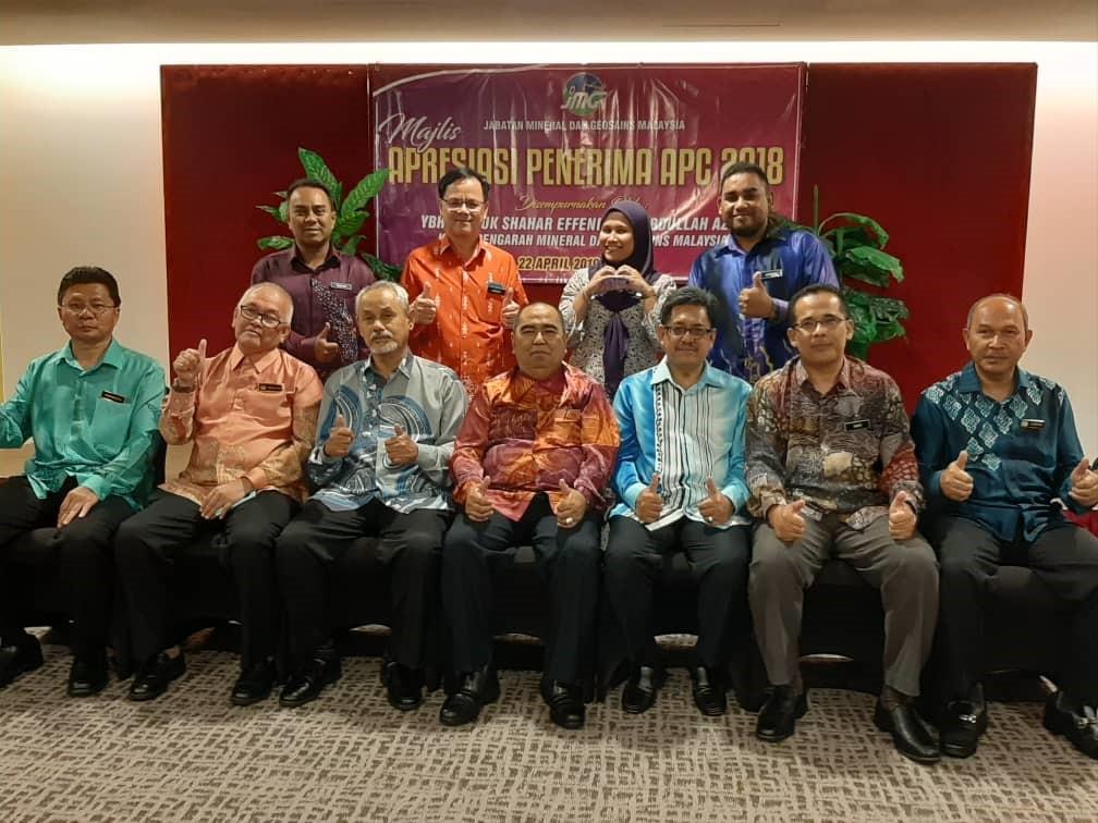 Majlis Apresiasi Penerima APC JMG 2018