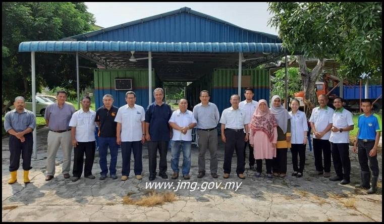 Lawatan Ketua Pengarah JMG Dan Ketua Pengarah FRIM Ke SUGA, Malim Nawar