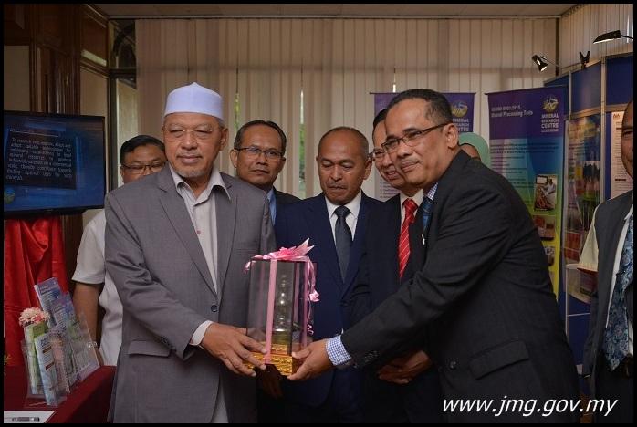 Pembentangan dan Pameran PPM di Seminar Hala Tuju Industri Mineral Negeri Kelantan