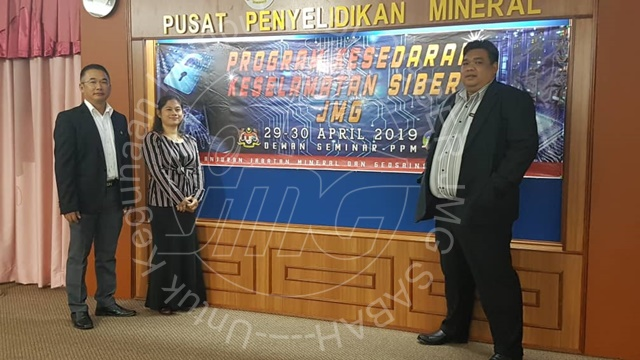 PROGRAM KESEDARAN KESELAMATAN SIBER JABATAN MINERAL DAN GEOSAINS MALAYSIA