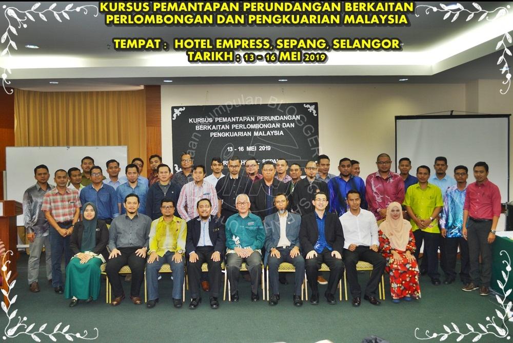 KURSUS PEMANTAPAN PERUNDANGAN BERKAITAN PERLOMBONGAN DAN PENGKUARIAN MALAYSIA