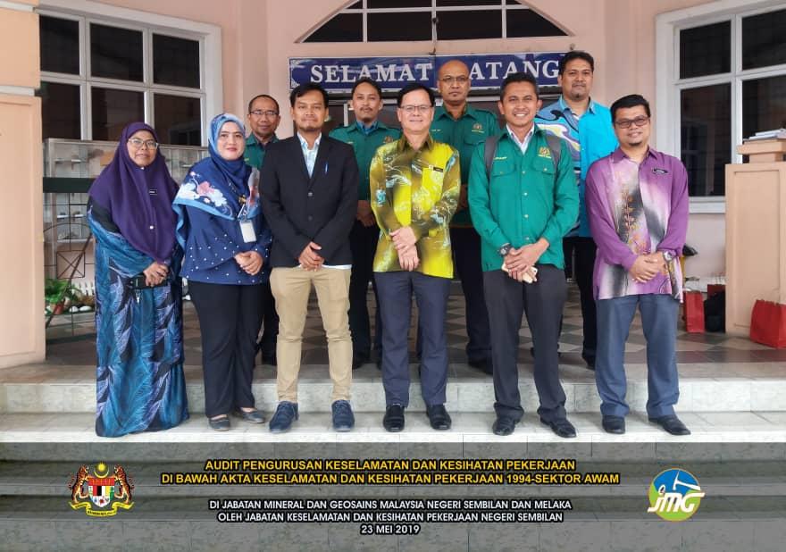 Audit Keselematan dan Kesihatan Pekerjaan di JMG NSM
