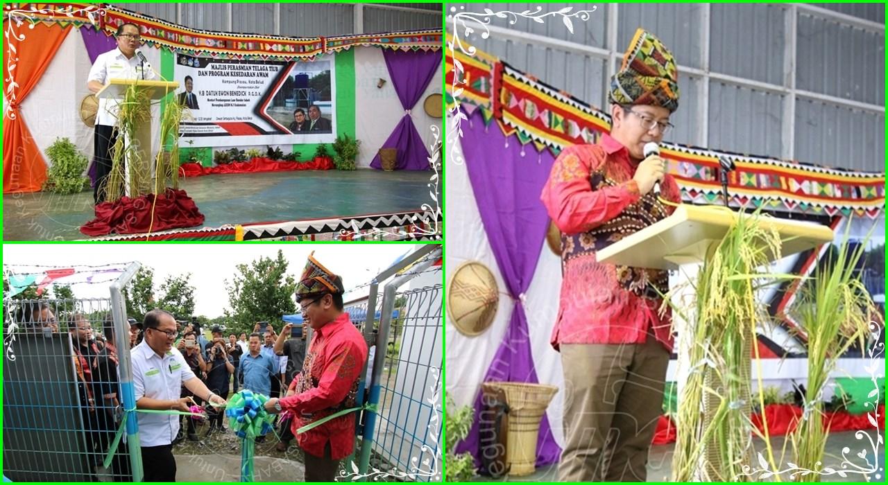 Majlis Perasmian Sistem Telaga Kg. Piasau, Kota Belud