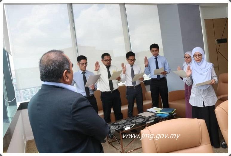 7 Pegawai Penyelidik Baru Melapor Diri di PPM