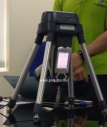 Demonstrasi X-Ray Flourescence (XRF) Mudah Alih