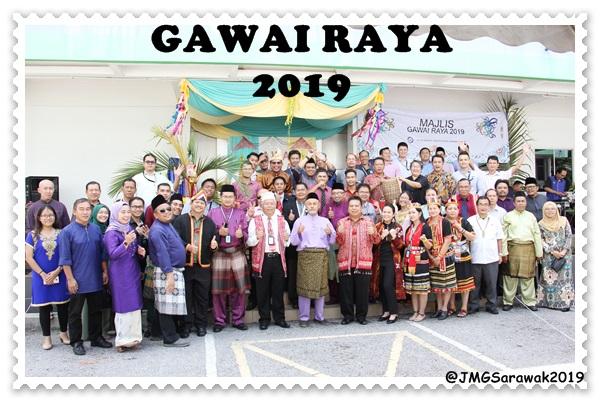 MAJLIS GAWAI RAYA 2019 ANJURAN KELAB MINERAL DAN GEOSAINS SARAWAK