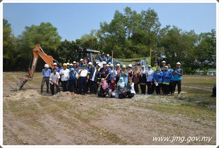 PPM Telah Berjaya Mengadakan Majlis Pecah Tanah Tapak Pembinaan Loji Perintis Rawatan AMD di SUGA.