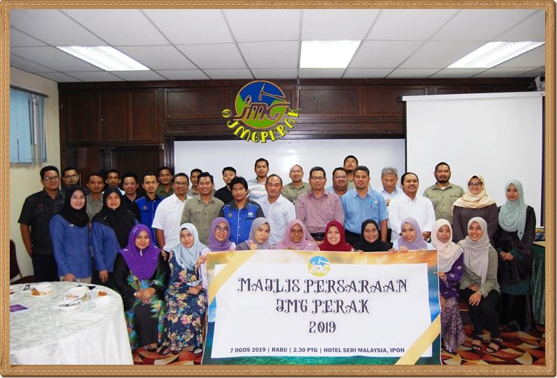 MAJLIS PERSARAAN JMG MALAYSIA PERAK 2019